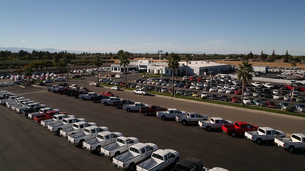 Corning Ford's lot. All inventory.