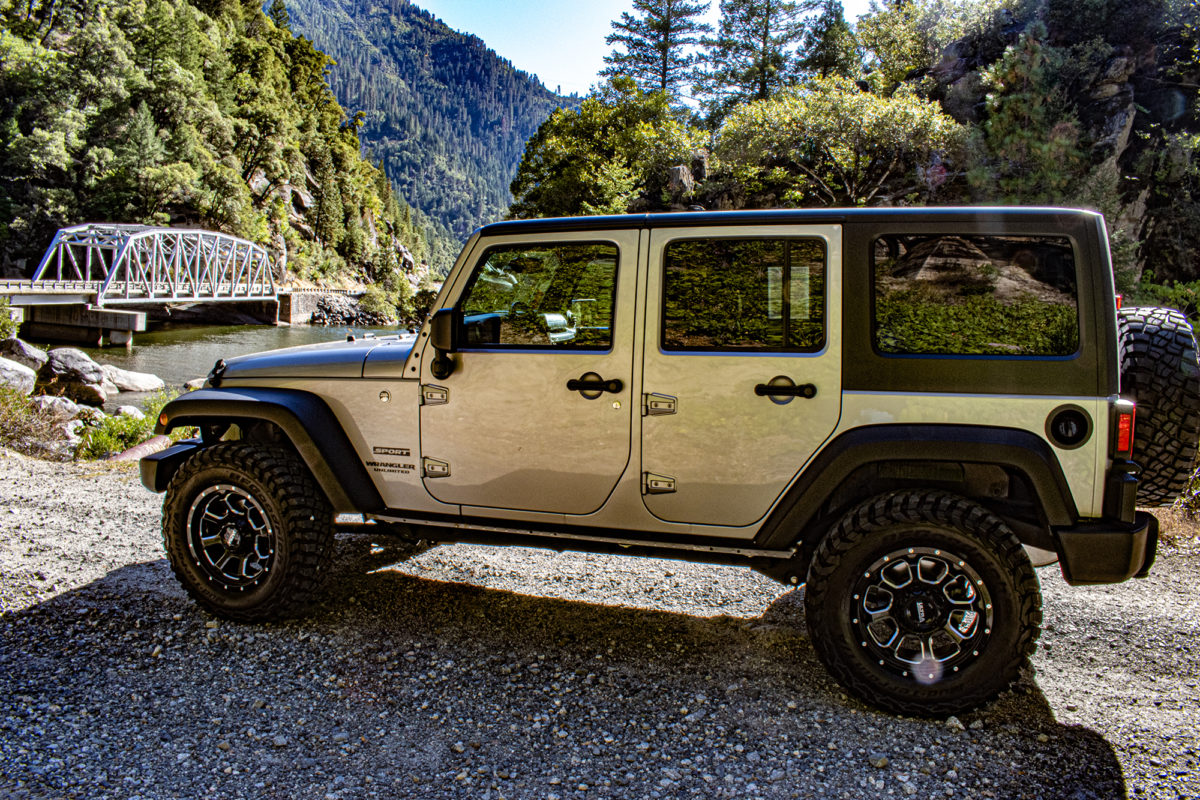2017 Jeep Wrangler Unlimited Sport, provided for this review by West Mitsubishi